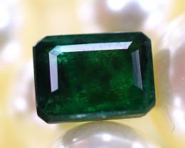 Emerald 1.86Ct Natural Zambia Green Emerald E2918/A38