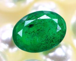 Emerald 1.80Ct Natural Zambia Green Emerald E2919/A38