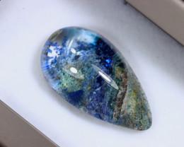 46.22cts Natural Blue Lodolite Cabochon / MA2086