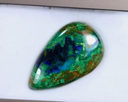 49.17cts Natural Azurite Malachite Cabochon / MA2093