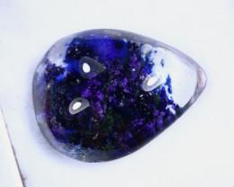 16.67cts Natural Violet Blue Lodolite Cabochon / MA2094