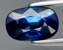 Amazing! 1.05ct VVS Oval Natural Green Blue Sapphire Madagascar, Heated Onl