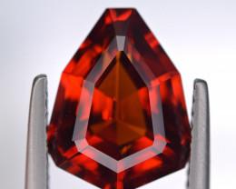 5.14 Ct Spessartite Garnet Brilliant Precision Cut Gemstone