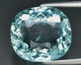 5.75 ct Natural Earth Mined  Unheated Blue Aquamarine, Brazil