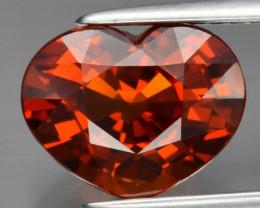 Ravishing! 3.31 ct Natural Earth Mined Orange Spessartite Garnet Namibia