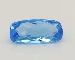 9.03 Cts Natural Blue Topaz Gemstone Good Luster