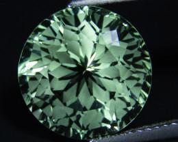 8.00Cts Stunning Natural Green Amethyst (prasiolite)Round Cut