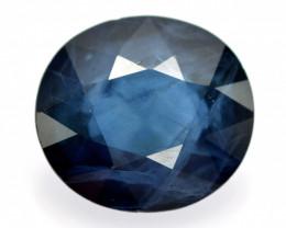 Blue Sapphire 1.39 Cts Natural Royal Blue  Ceylon Sapphire Gemstone