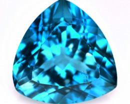Topaz  5.22 Cts  Natural London Blue Topaz Gemstones