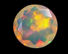 2.87cts Natural Ethiopian Welo Faceted Opal / KLV1352