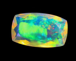 2.38cts Natural Ethiopian Welo Faceted Opal / KLV1355