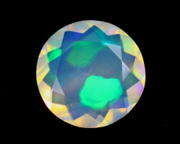 2.39cts Natural Ethiopian Welo Faceted Opal / KLV1368