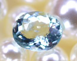 Aquamarine 2.35Ct Natural Light Blue Aquamarine D3005/B47