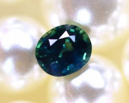 Sapphire 0.80Ct Natural Unheated Blue Sapphire D3015/B9