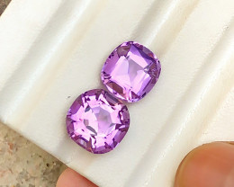 13.30 Carats Natural Amethyst Cut Stones from Africa