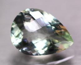 9.97ct Natural Green Prasiolite Pear Cut Lot A86