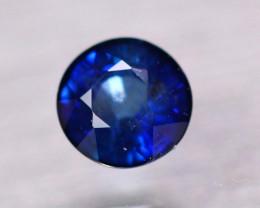1.49ct Natural Ceylon Blue Sapphire Round Cut Lot A53