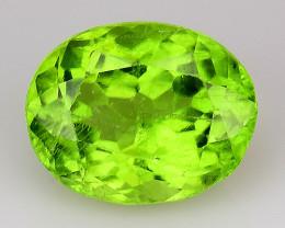 3.73Ct Pakistan Peridot Fine Cut Quality Gemstone PT1