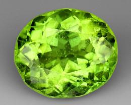 3.74Ct Pakistan Peridot Fine Cut Quality Gemstone PT3