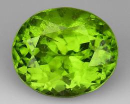 3.67Ct Pakistan Peridot Fine Cut Quality Gemstone PT5