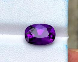 3.40 CT Natural Amethyst Top Loose Gemstone