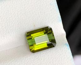 2.60 CT Natural Green Tourmaline Loose  Gem