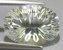 10.75 CTS~EXCELLENT LUSTER CUT NATURAL UNHEATED WHITE TOPAZ