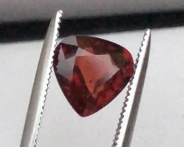 Top Grade 1.60 ct Fancy Cut Reddish Himalayan Garnet Ring Size