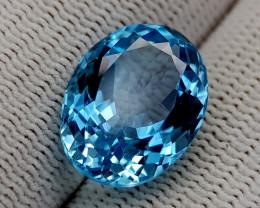 13.52CT BLUE TOPAZ BEST QUALITY GEMSTONE IIGC95