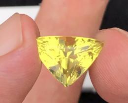 Brilliant Color  5.90 Ct Natural Citrine gemstone