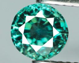 1.44 Cts Blue Zircon Natural Gemstone