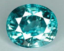 1.71 Cts Blue Zircon Natural Gemstone