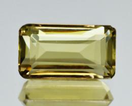 Natural Lemon Quartz 5.96  Cts Perfect Precision Cut