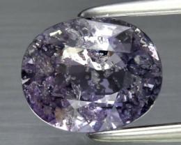 2.01ct Oval Natural Unheated Purple Sapphire