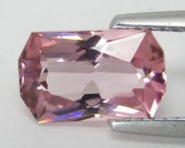 2.16Cts Pink beauty Natural Unheated Pink Tourmaline Fancy Cushion Cut
