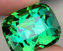 Outstanding 17.54 Carats Natural Greenish Blue Tourmaline Gemstone