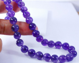 289 CTs Natural & Unheated~Purple Amethyst Beads