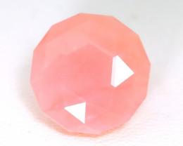 Pink opal 6.64Ct Master Cut Natural Peruvian Andean Pink Opal SA129