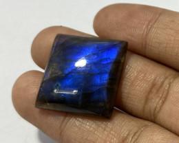 28.40  Cts Natural Labradorite loose Gemstone 89