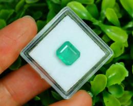Panjshir 2.00Ct Octagon Cut Natural Afghanistan Green Emerald A2810