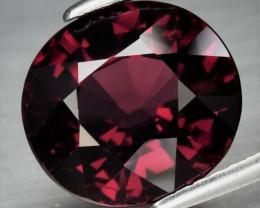 5.88 ct  Natural Earth Mined Purplish Red Rhodolite Garnet, Tanzania