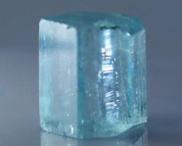 10.95 CTs Natural & Unheated~Blue Aquamarine Handmade Crystalll