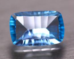 7.04ct Natural Swiss Blue Topaz OctagonLaser Cut Lot V8221
