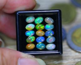 5.40ct Natural Ethiopian Welo Solid Opal Lot V8230
