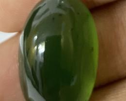 29.80 Cts Natural Serpentine loose Gemstone Cabochon 13