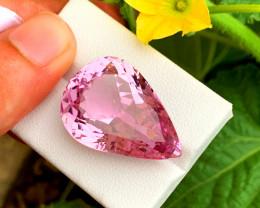 35.00 cts Natural Pink Kunzite Gemstone