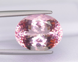 9.62 Ct Flawless Sakura pink Morganite Exquisite Quality Gemstone