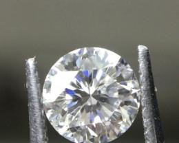 RARE* 0.33 Ct 88 Facet Sitara Cut Round Diamond