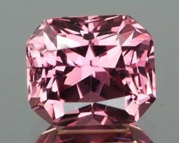 *NR* Orangy Pink Padparadscha Sapphire 1.12Ct Radiant Cut