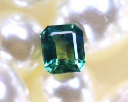 Unheated Sapphire 0.83Ct Natural Peacock Sapphire D0105/B9